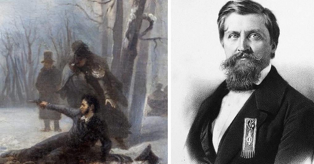 Какова судьба Дантеса после дуэли с Пушкиным
