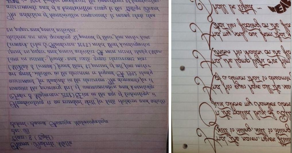15 людей с самым красивым почерком: мечта перфекциониста