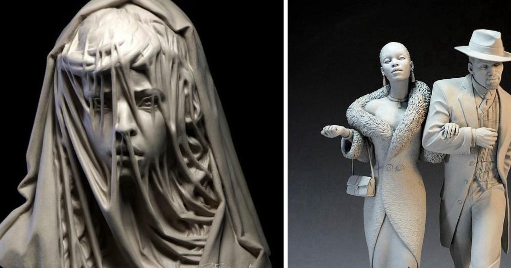 Эти современные скульптуры восхищают не меньше, чем классические