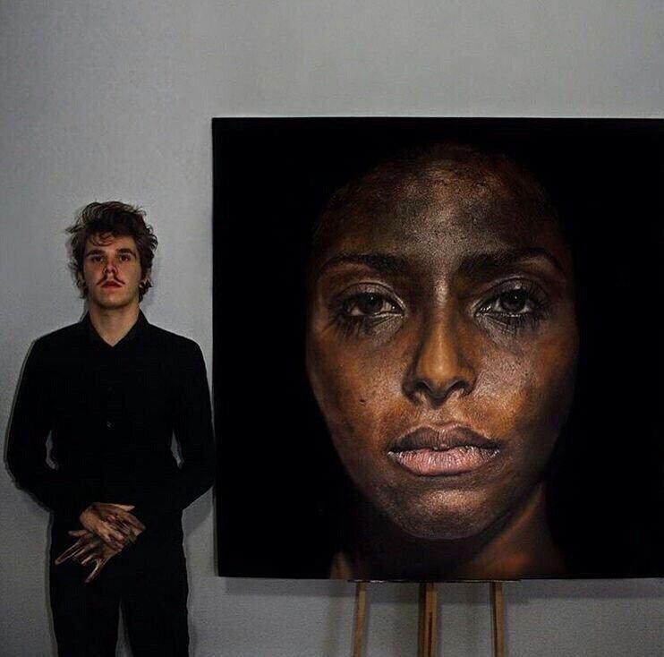 Художник создает картины, которые сложно отличить от фото