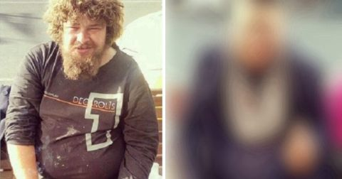 Парень, с помощью одной детали, дает веру в светлое будущее бездомным