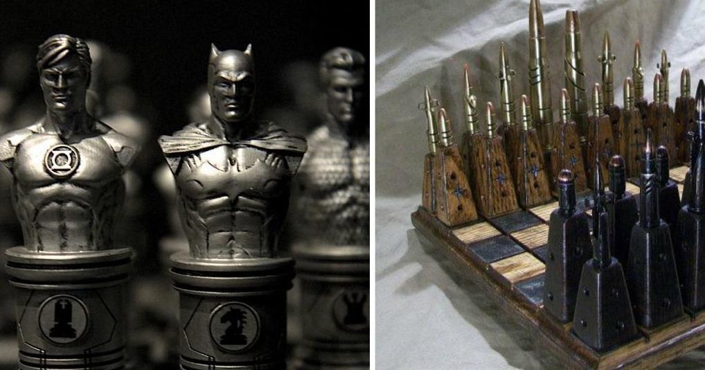 Самые необычные и красивые шахматы мира
