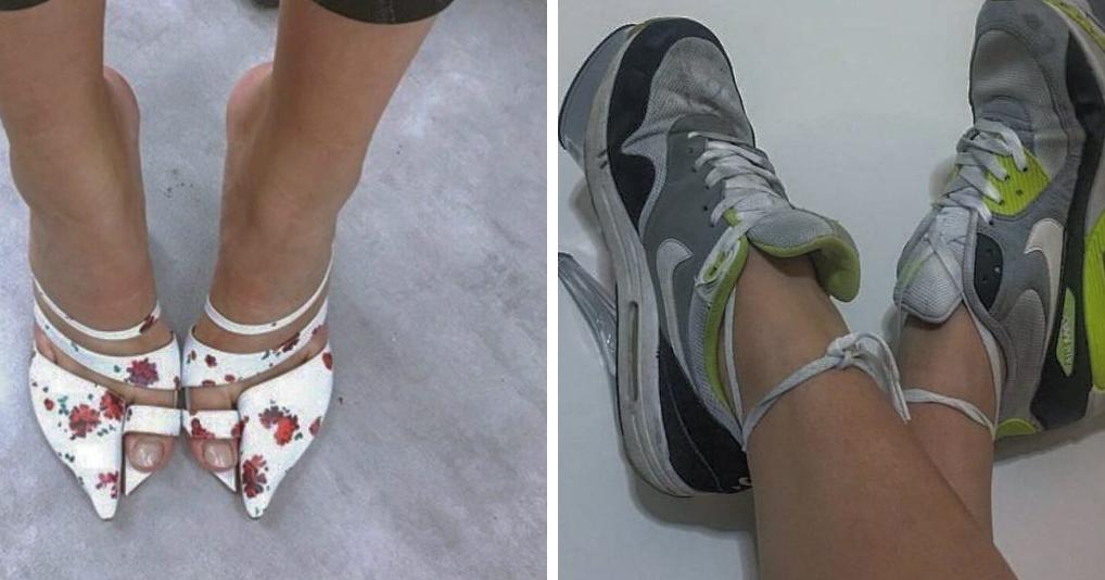 Ужасная трендовая обувь, которая непонятно зачем нужна