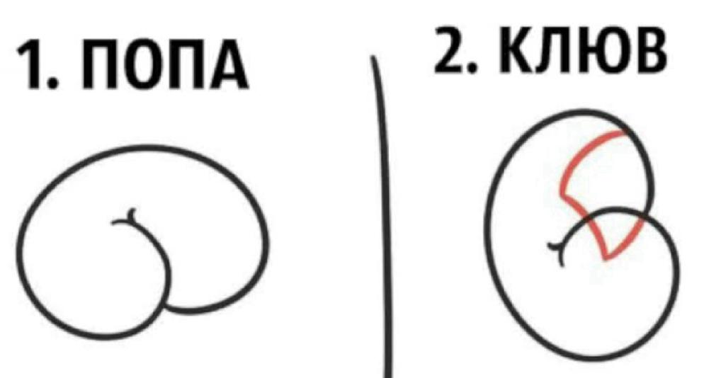 Как создать рисунок из очертаний пятой точки? Да очень просто!