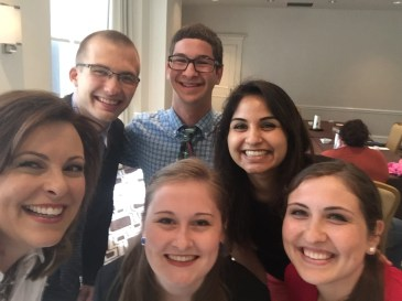 SWD 2015 Interns @ JDRF along with former Miss America & SWD founder, Nicole Johnson