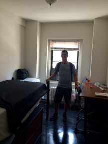 My dorm at the School of Visual Arts in Manhattan