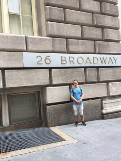 First day I came to NYC I had to stop and check out my office.