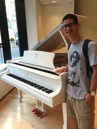 John Lennon special edition Steinway Piano