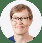 Kasvokuva Marita Lönnbäckistä