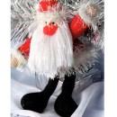 Дед Мороз. Крючком. Описание