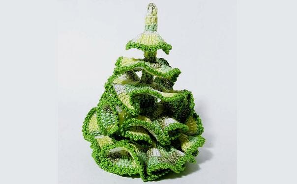 Рождественская елка крючком. Мастер-класс
