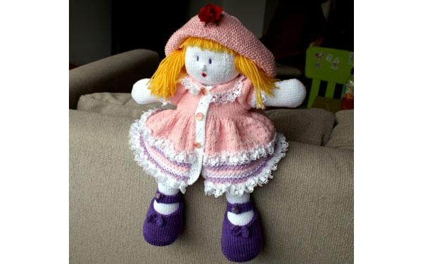 Вязаная кукла спицами. Мастер-класс