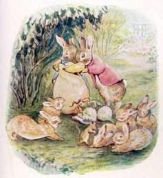 Кролики мисс Беатрикс Поттер и утка Джейма