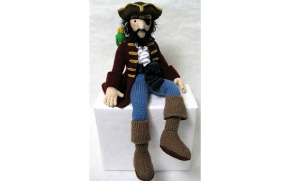 Вязаный пират. Описание