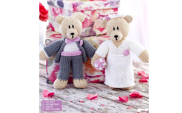Bride Groom. Медведи-молодожены. Описание