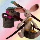 Пасхальный кролик-художник. Схема