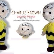 Вязаный Чарли Браун. Крючком