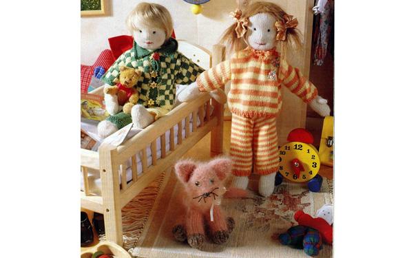 Пижамы для кукол Маха и Лизы. Описание