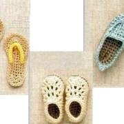 Вязаная обувь для кукол