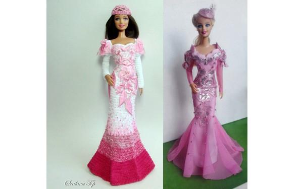 Два платья для Барби