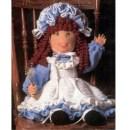 Вязаная любимая кукла Анита. Схема