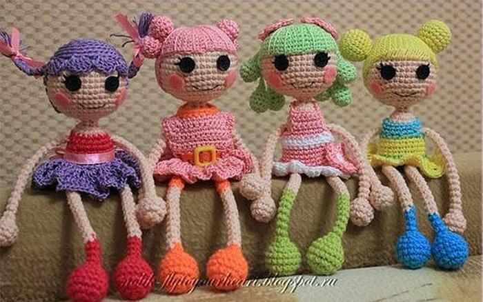 Слинго-кукла Лалалупси. Схема