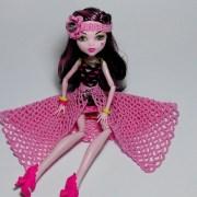 Ажурная юбка для куклы. Мастер-класс
