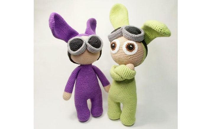 Кролики Паула и Пол. Схема