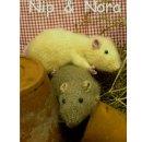 Вязаные спицамикрыски Нип и Нора