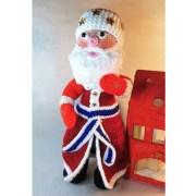 Дед Мороз Сниний кушак. Крючком