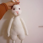Большой белый кролик. Крючком