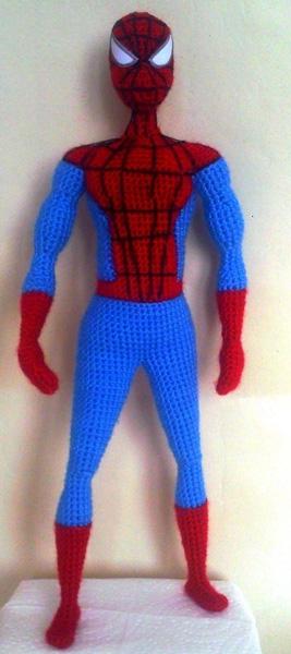 Вязаный Человек-паук. Описание
