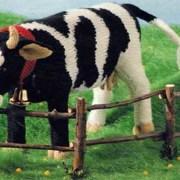 Вязаная корова Буренка. Спицами