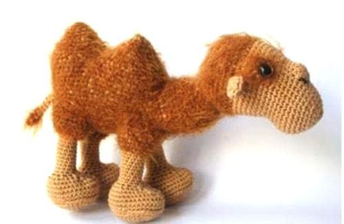 Вязаный верблюд Карим. Схема