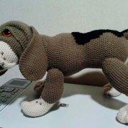 Мастер-класс по вязанию собаки породы Бигль