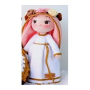 Вязаная кукла Дева Мария. Мастер-класс