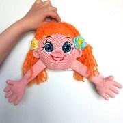 Вязаная кукла Мирилка. Крючком