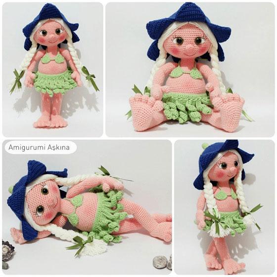 Кукла Лана. Крючком