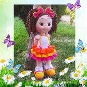 Вязаная крючком кукла Josi Santos
