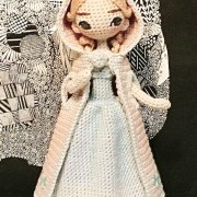 Вязаная крючком кукла Анна