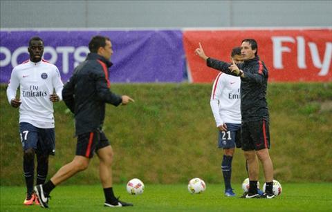 Emery se dem den su thay doi cho PSG