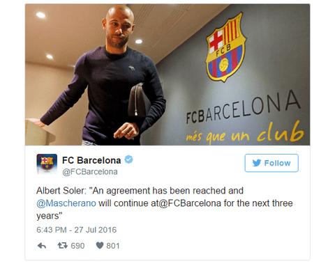 Javier Mascherano CHINH THUC o lai Barcelona them 3 nam hinh anh