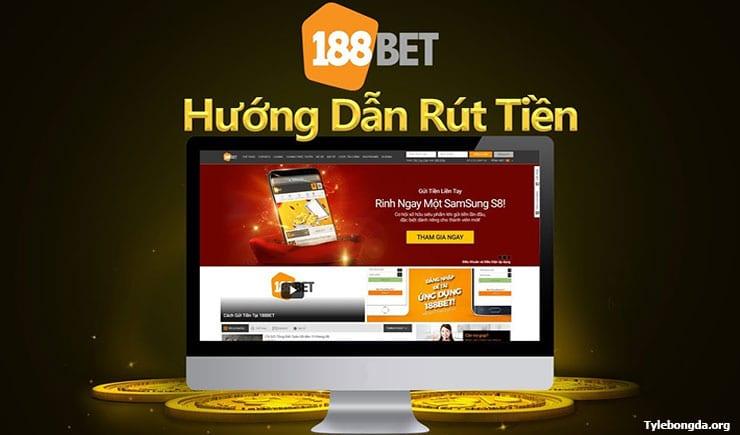 Hướng dẫn cách rút tiền 188BET nhanh chóng dễ dàng