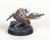 Infinity Nomad Zero by Corvus Belli, painted by Tyler Provick