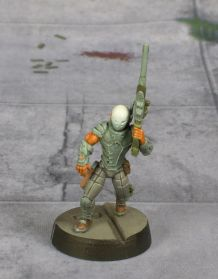 Infinity Nomad Intruder Sniper painted by Tyler Provick