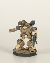 Heavy Gear Northern Jaguar. Miniatures by Dream Pod 9. Painted by Tyler Provick