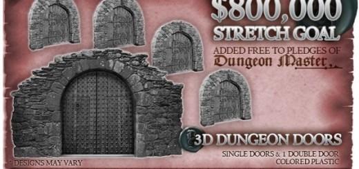 Dungeon Saga Doors
