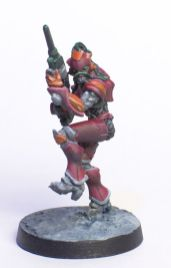 Infinity Nomad Mobile Brigade painted by Tyler Provick.
