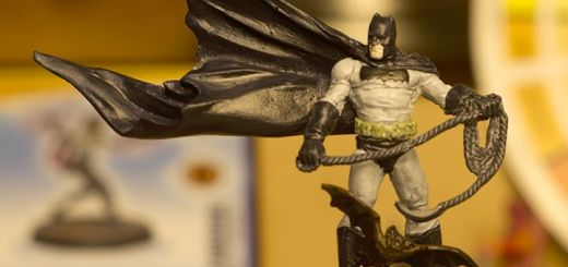 Knight Miniatures Frank Miller Batman flatted