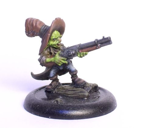 Mailfaux Gremlin painted by Tyler Provick.